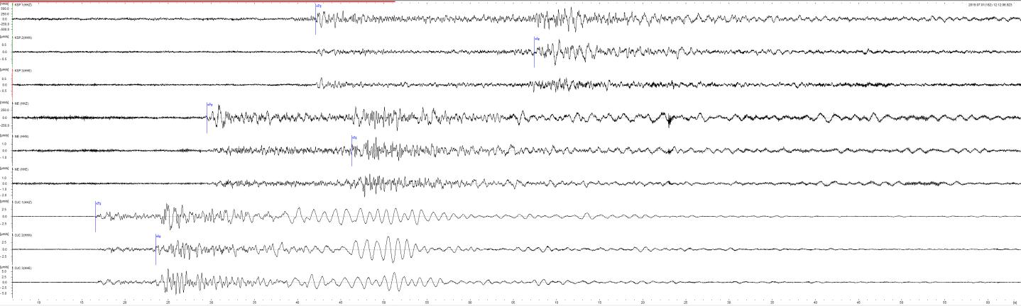 News - Seismology - Departments - IGF PAN